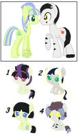 Alstroemeria and Stranger Danger foals {closed} by Ivon-adopts