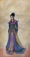 Dao Ming, the Sorceress by ZandurOfBronte