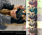 masquerade mask action set 1 by Kasavian