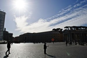 Sky of San Pietro by Masojiro