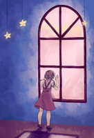 Look outside by liyashi