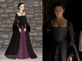 Anne's Dark Tower Dress by LadyAquanine73551