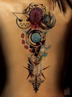 Anime Tattoo by GS _ ALPHA COMM by Proto-jekt