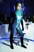 zero Suit Samus Aran 4 by chrisfkn