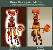 -Draw Again Meme- by ArTLoVer4LiFe