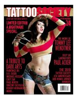Tatto Society Cover by jagged-eye