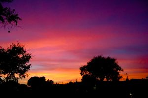 Sunset over Atwater by MordsithCara