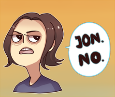 Arin is so grump by 069meganekun