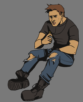 Endverse Dean by ShichininSlasher