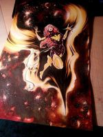 Dark Phoenix hand colored by Blasterkid