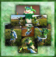 Puddle Bender... in 3D by ChakotayDgryphon