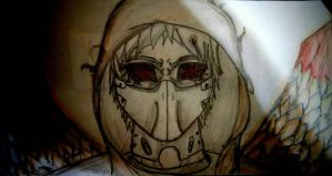 Fan made Ghoul (Tokyo Ghoul) by Yosh300