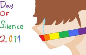 Day Of Silence 2011 by Xiaolin101