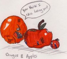 Oranges And Apples by brenbrenchan