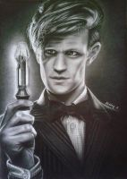 The Eleventh Doctor by AlexaSkys-hetenyi