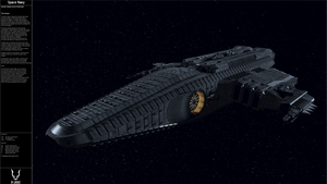 The Auryon Heavy Escort Destroyer. by JB1992