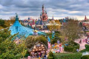 Fantasyland, Disneyland Paris by azerinn