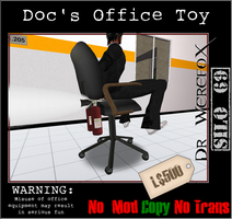 Doc's Office Toy by truemouse