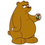 Coffee Bear by Cartcoon