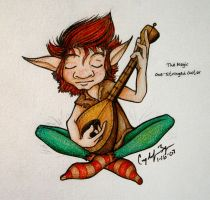 The Magic One Stringed Guitar by funkmaster-c