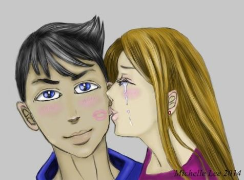 Sweet Kiss - Colored by angelsimaren