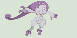 Pokemon Base 104~Mega MewTwo 1~ by Xbox-DS-Gameboy