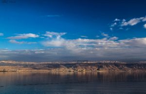 Last light on the Dead Sea by ShlomitMessica