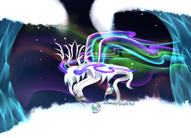 Hatched Northern Lights Balgeunziege! by PeachyPieAdopts