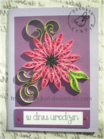 Quilling - card 84 by Eti-chan