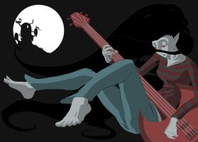 Midnight Marceline by thewhywolf