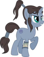 Korra Pony by AxemGR