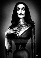 Undead Vampira by ScreamingDemons