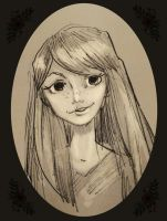 ginny weasley sketchle by Hillary-CW