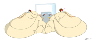 Commission - Snorlax Diet by broken-brow