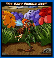 Mr. Bug goes to Town - His Baby Bumble Bee by TheCiemgeCorner
