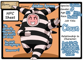 Jukidoor Apirana - Pokemon of Avalon Personal NPC by Galactic-Rainbow