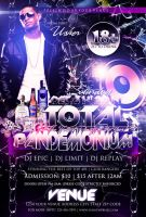 Total Pandemonium Flyer Template by tinachang89