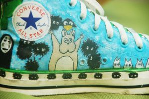 Studio Ghibli Shoes 3 by missprettylady