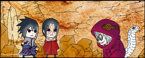 naruto_578 sasuke and itachi by cculove12