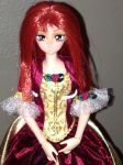 Vampire Serenity red gown (up close) by floraiji30