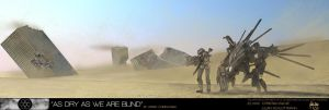 """""""AS DRY AS WE ARE BLIND"""" by FutureFavorite"""