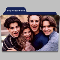 Boy Meets World tv show folder by speakingsoul