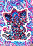 ACEO:Lovely Cat by lutamesta