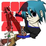 Gorillaz: 2D by Evelynism