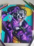 drawing joker - the killing joke by Tenemur
