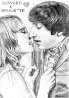 Howard and Bernadette. by IsabelleKircher