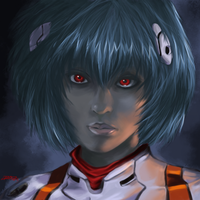 Ayanami Rei by EduardoGaray