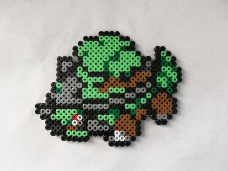Torterra Bead toy by Etowntigers1