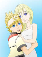 Roxas And Namine by VanitasPrincesss