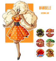 Fakemon: Daycare lady Maribelle by MTC-Studios